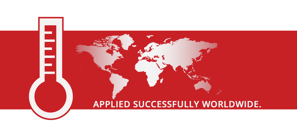Lubisol insulation - applied successfully worldwide.